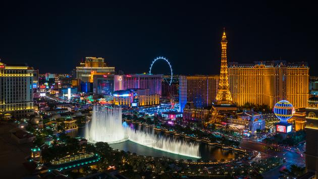 World famous Vegas Strip in Las Vegas, Nevada (Photo via  f11photo / iStock / Getty Images Plus)