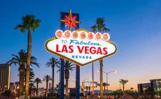 The Welcome to Fabulous Las Vegas sign in Las Vegas, Nevada USA (Photo via f11photo / iStock / Getty Images Plus)