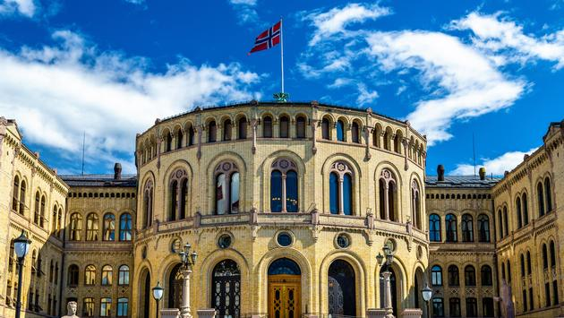 The Storting, the Norwegian parliament in Oslo (Leonid Andronov / iStock / Getty Images Plus)