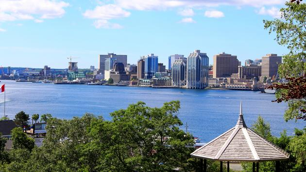 Halifax Nova Scotia Waterfront.  (photo via Celina Campbell/iStock/Getty Images Plus)