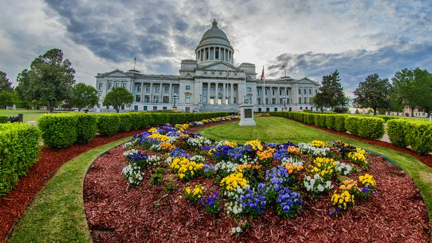 The Arkansas state capitol building is located in Little Rock. (Photo via fotoguy22 / iStock / Getty Images Plus)