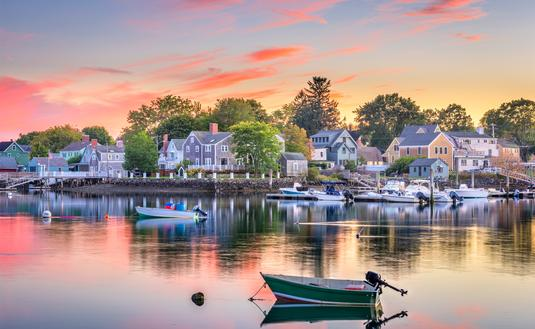 Portsmouth, New Hampshire, USA townscape. (SeanPavonePhoto / iStock / Getty Images Plus)