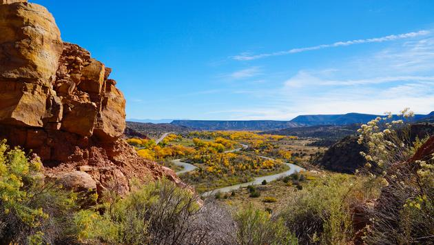 Fall in Abiquiu, New Mexico (MissionPositive / iStock / Getty Images Plus)