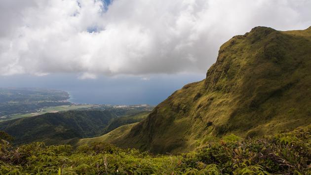 Volcano of La Montagne Pelee, Martinique' (photo via Crobard / iStock / Getty Images Plus)