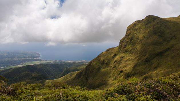 Volcano of La Montagne Pelee, Martinique' (photo via Crobard / iStock / Getty Images Plus)