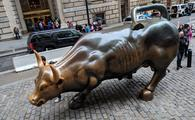 The Charging Bull on Wall Street, NYC