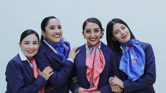 Para Aeromar, la imagen es una carta de presentación y por eso renovó el uniforme de la tripulación.