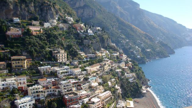 Amalfi coast homes