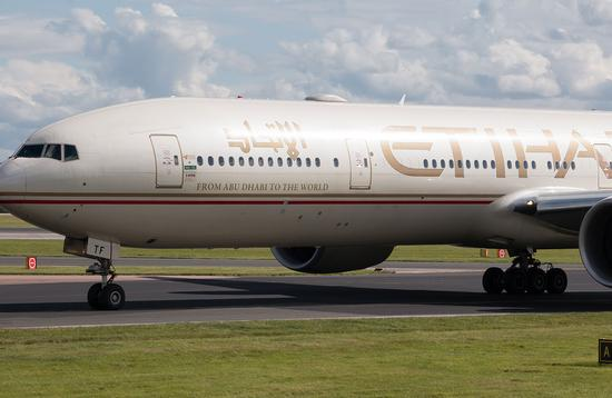 Etihad Airways Boeing 777