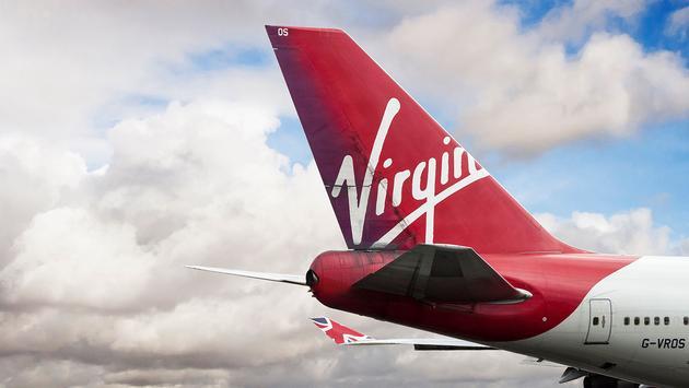 Virgin Atlantic Airways Boeing 747-443 cn 30885-1268 G-VROS.