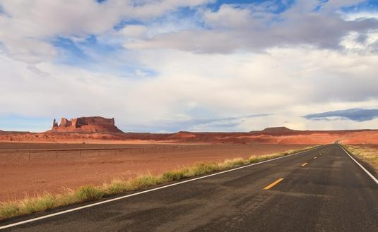 Scenic Road, New Mexico