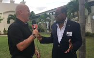 John Kirk speaks 1-2-1 with Edmund Bartlett, Jamaica