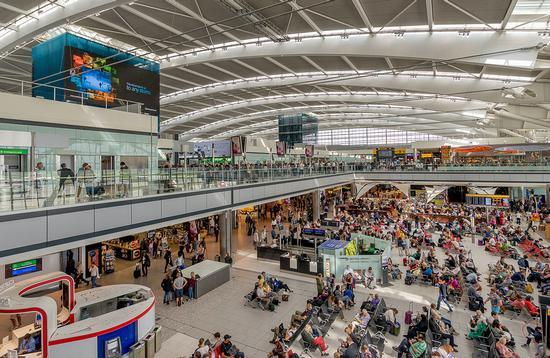 London Heahtrow Airport Terminal 5