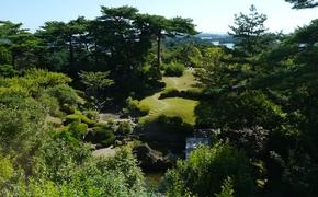 Landscape in the Tohoku region of Japan