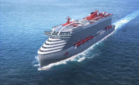 PHOTO: Rendering of Virgin Voyages' Valiant Lady. (photo courtesy Virgin Voyages Media)