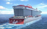 Rendering of Virgin Voyages