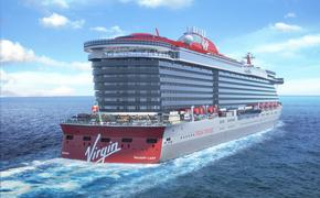 Rendering of Virgin Voyages' Valiant Lady
