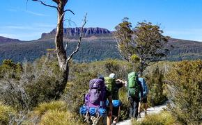 Hiking in Tasmania