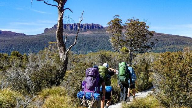 Hiking in Tasmania