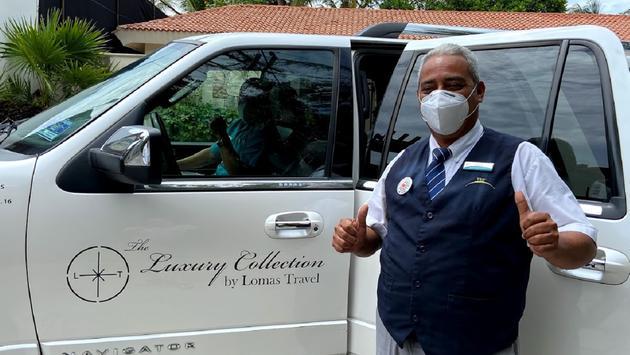 Driver in Cancun