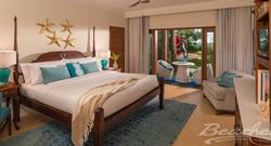 Tropical Beachfront Two-Bedroom Walkout Grand Butler Family Suite 65% Off Rack Rate