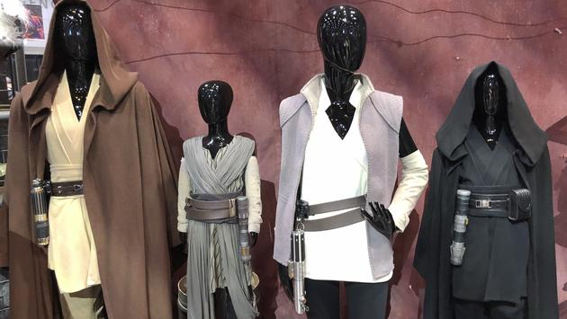 Clothing for sale at Galaxy's Edge