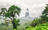 Pico Cao Grande in Sao Tome and Principe