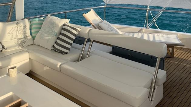 Chartered Yacht