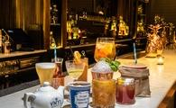 An assortment of cocktails at VINYL In New York City.