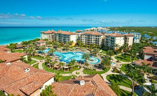 Aerial view of Beaches Turks & Caicos Resort (Courtesy of Sandals)