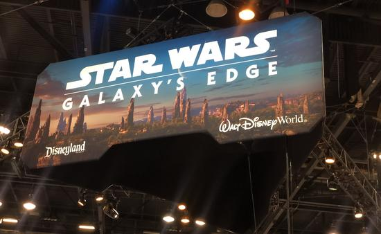 Galaxy's Edge booth