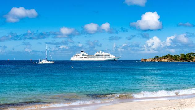 Seabourn Odyssey in Caribbean.