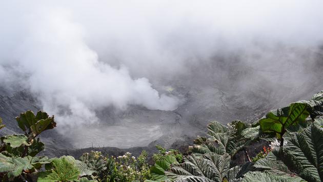 Le volcan Poas, Costa Rica