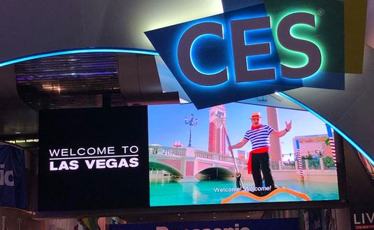 The annual Consumr Electronics Show in Las Vegas
