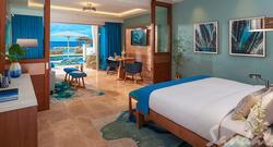 Beachfront Swim-up Millionaire One Bedroom Butler Suite w/ Patio Tranquility Soaking Tub