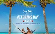Sandals Veteran's Day Promotion