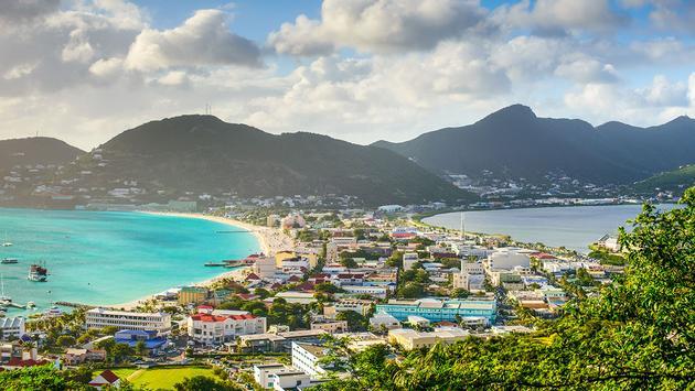 Philisburg, Sint Maarten (Photo via SeanPavonePhoto / iStock / Getty Images Plus)