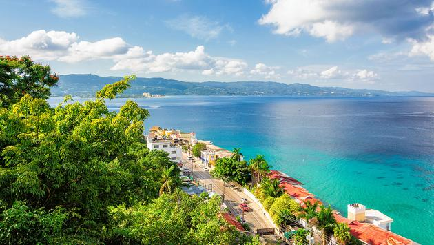 Jamaica island, Montego Bay (Photo via lucky-photographer / iStock / Getty Images Plus)