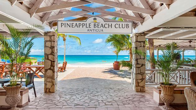 Pineapple Beach Club, Antigua (Photo via Elite Islands Resort)