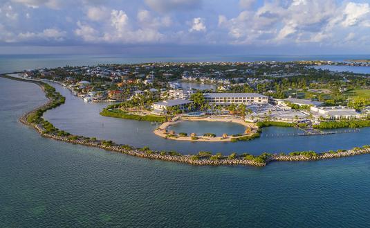Duck Key Aerial (Courtesy of Hawk's Cay Resort)