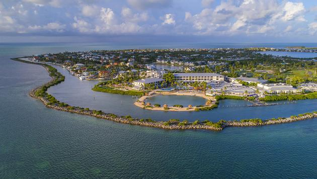 Duck Key Aerial (Courtesy of Hawk's Cay Resort)