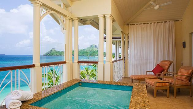 The Landings Resort & Spa, St. Lucia Pool (Courtesy of Elegant Hotels)
