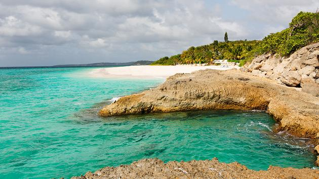 coastline at anguilla (Photo via noblige / iStock / Getty Images Plus)