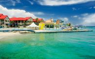 Georgetown, Grand Cayman, from the sea. (Photo vi a rmanera / iStock / Getty Images Plus)
