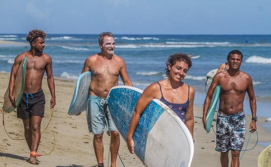 Surfasana retreat in the Dominican Republic.