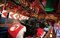 Mario Kart ride at Super Nintendo World