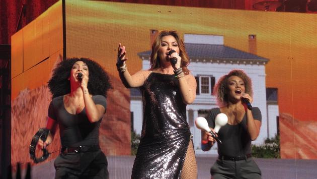 Shania Twain in Concert, London