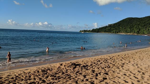 Grande-Anse Beach Guadeloupe