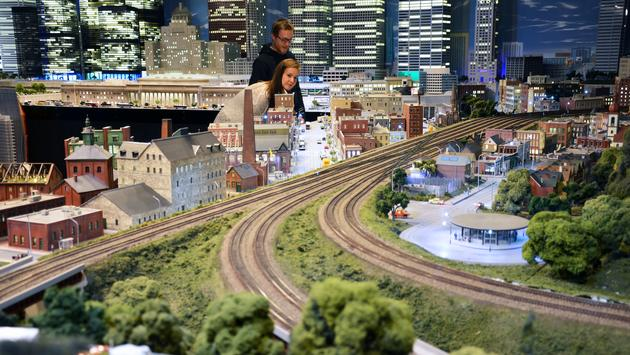 Little Canada recreates the country's landmarks and cityscapes in miniature scale.