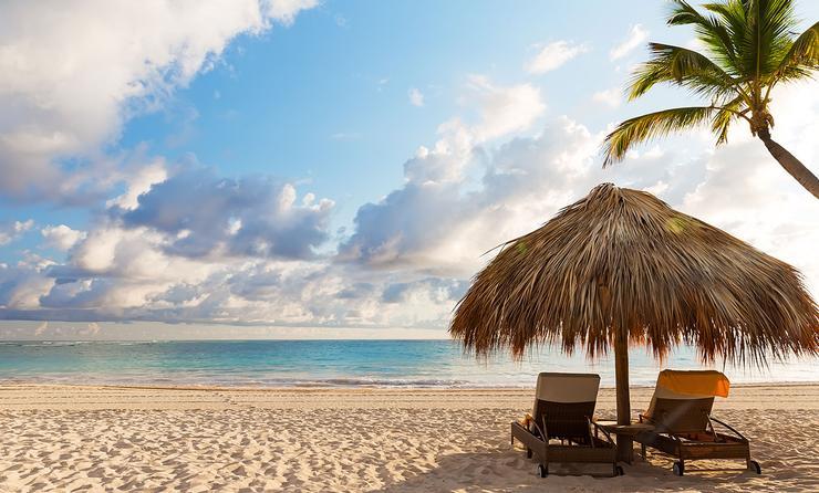sand beach in Punta Cana, Dominican Republic (Photo via Preto_perola / iStock / Getty Images Plus)